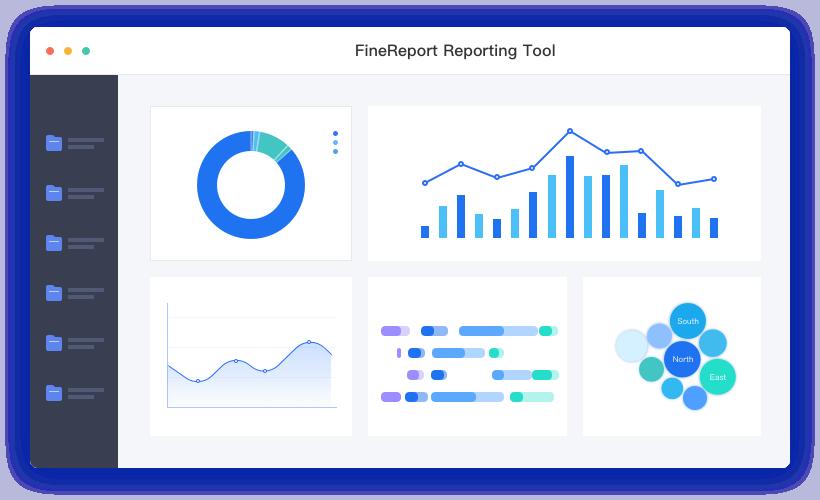FineReport Product flow Picture