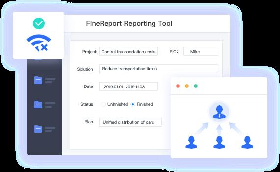 FineReport Fill Function
