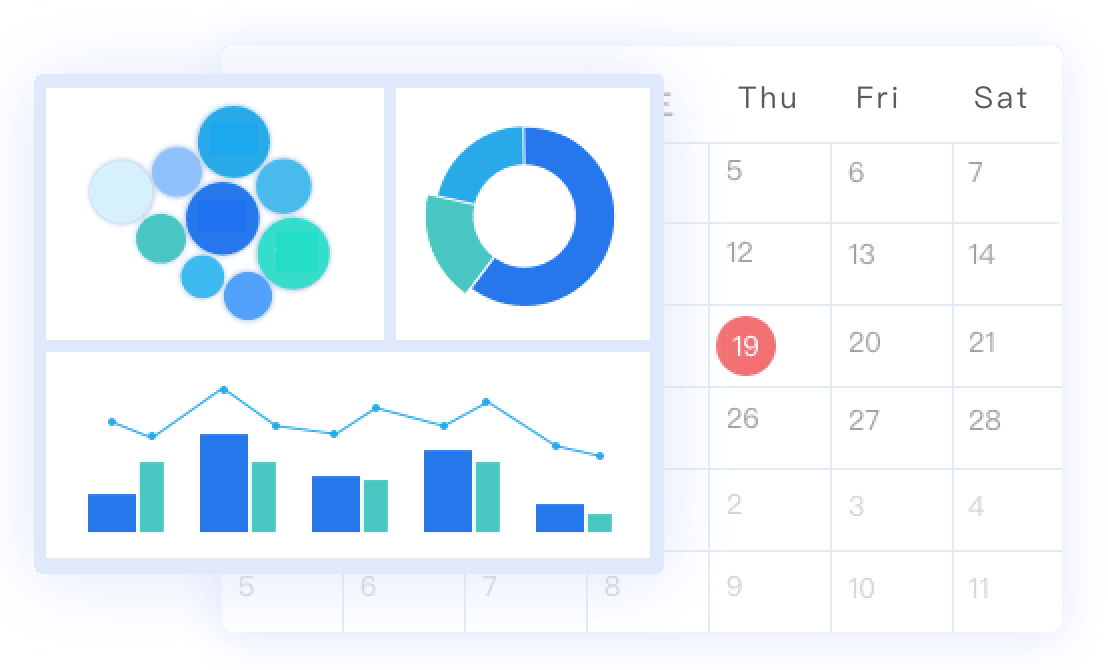 set monthly reports