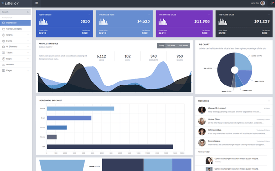 embedded analytics reporting system