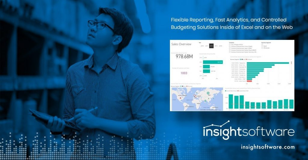 finance-owned solutions that include a reporting tool